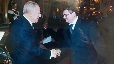 Premio cronista dell'anno 2003 Ciampi e Cesario Picca