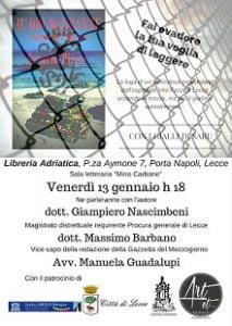 presentazione del mio terzo giallo Il dio danzante a Lecce